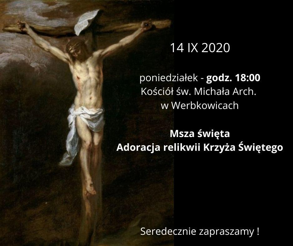 Adoracja relikwii Krzyża Świętego